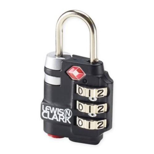 Lewis N. Clark Travel Sentry Indicator 3-Dial Combination Lock