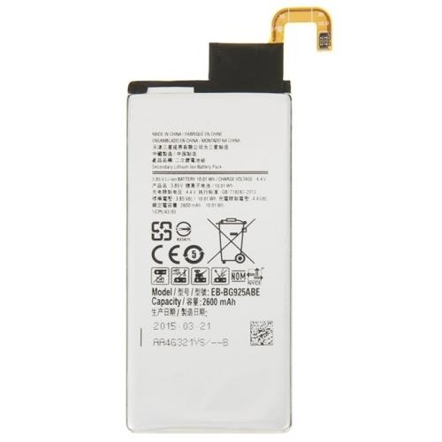 2600mAh High Quality Rechargeable Li-ion Battery for Samsung Galaxy S6 edge