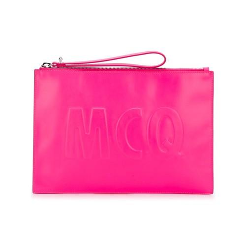 MCQ ALEXANDER MCQUEEN Oversized Mcq Logo Clutch