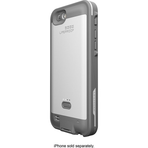 LifeProof - FRE Power Case for Apple iPhone 6 and 6s - Avalanche