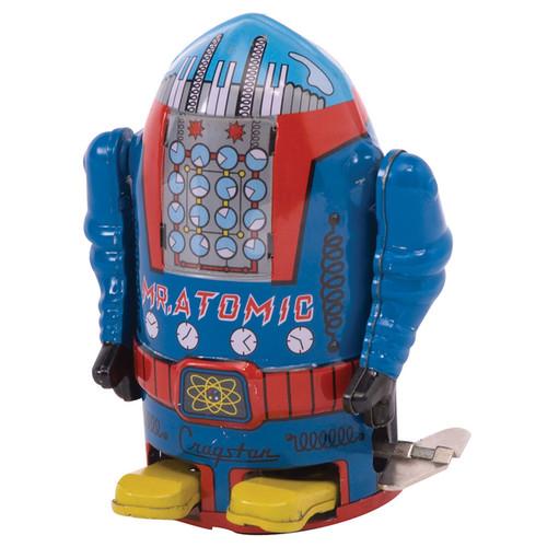 Schylling Vintage 4-inch Mr. Atomic Robot - G019649226405