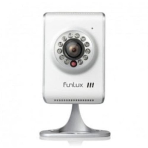 Funlux Camera 720P HD Wi-Fi Wireless Network IP Camera with Two Way Audio Retail CH-S1A-WACS