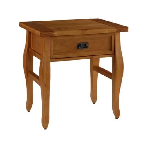 End Table Antique Wood - Linon Home Dcor