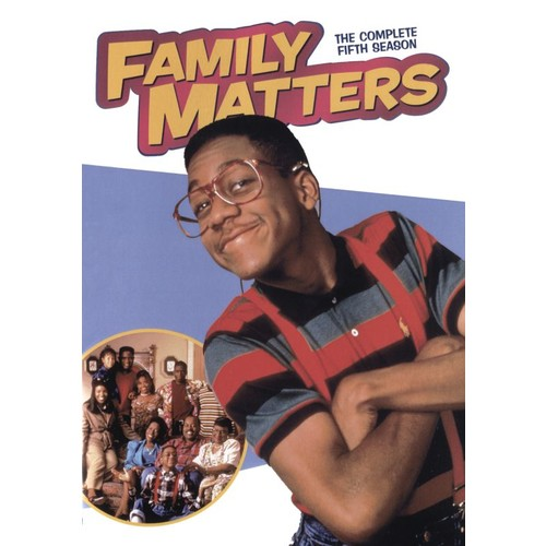 Family Matters: The Complete Fifth Season [3 Discs] [DVD]