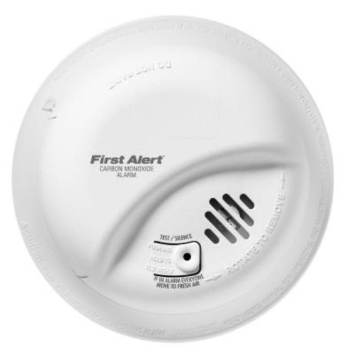 First Alert Hardwired Interconnected Carbon Monoxide Alarm with Battery Backup