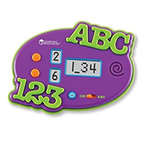 Learning Resources ABC & 123 Electronic Flash Card