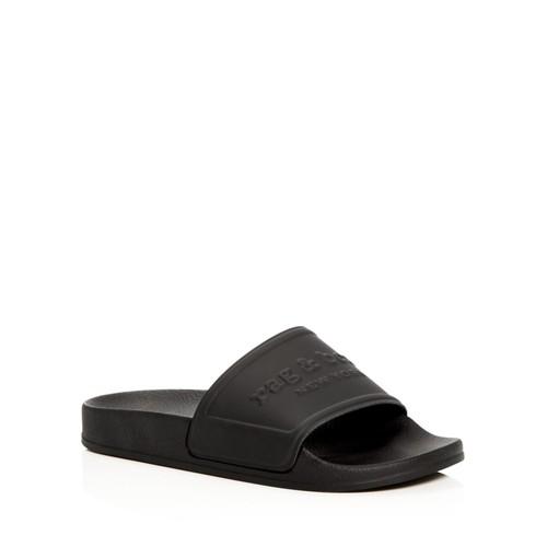 RAG & BONE Women'S Logo Pool Slide Sandals