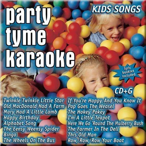 Party Tyme Karaoke: Kids Songs [CD]