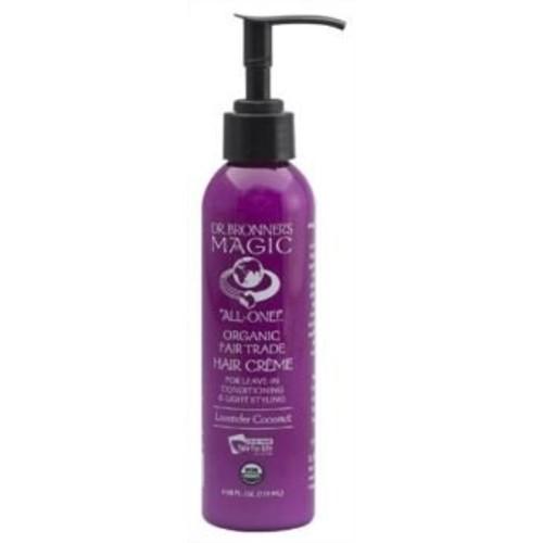 Dr. Bronner - Lavender & Coconut Hair Conditioner & Styling Creme, 6 fl oz cream