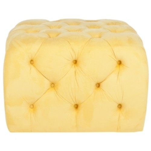 Safavieh Kenan Ottoman Color: Sunflower Yellow