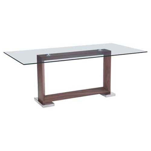 Oasis Dining Table Wood/Walnut - Zuo