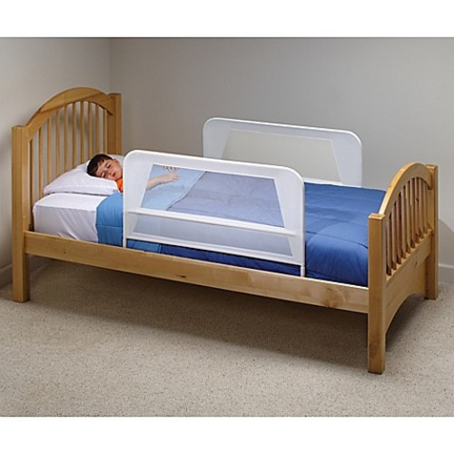 KidCo Mesh Bed Rails in White (Set of 2)