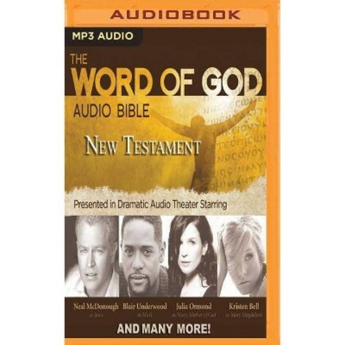 Word of God Audio Bible : New Testament (MP3-CD)