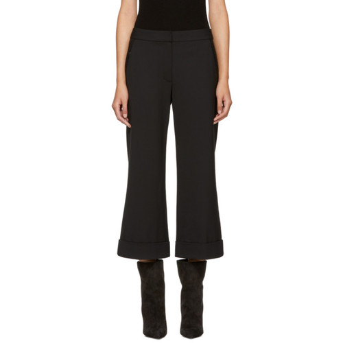 ALEXANDER WANG Black Chainmail Trousers