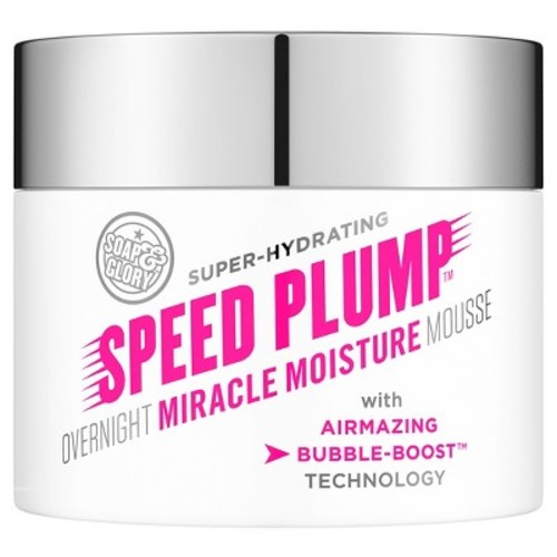 Soap & Glory Speed Plump Overnight Moisture Mousse - 1.3oz