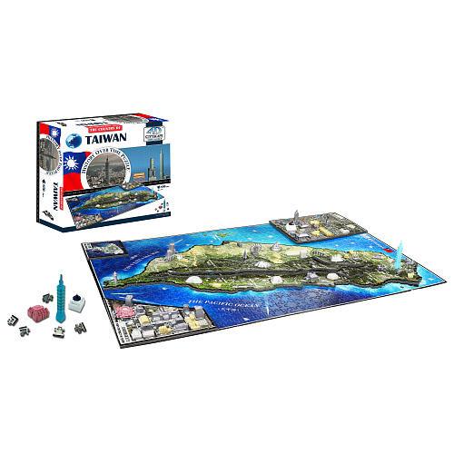 4D Cityscape: Taiwan 850-Piece 3D Time Puzzle by 4D Cityscape