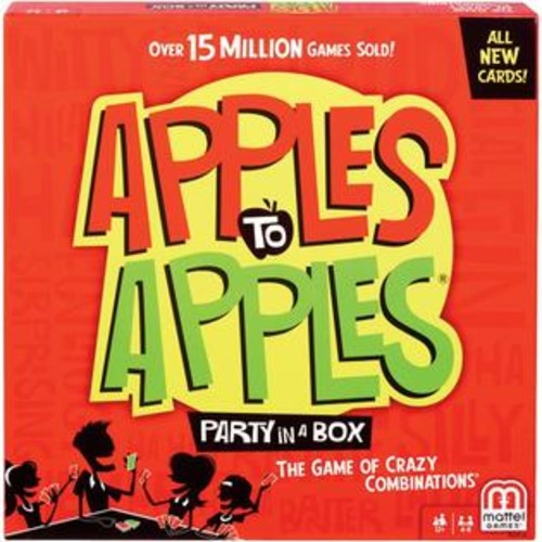Mattel Bgg15 Apples To Apples(r) Party Box