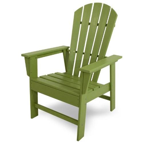 POLYWOOD SBD16LI South Beach Dining Chair, Lime [Lime]