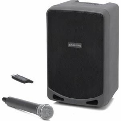Samson 100W Rechargeable Portable PA with Handheld Wireless System and Bluetooth