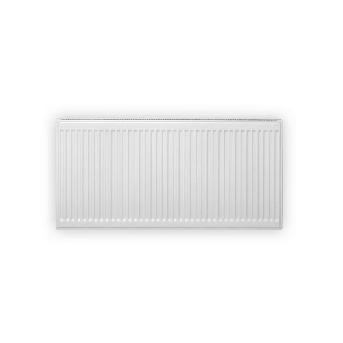 Pensotti 12 in. H x 40 in. L Hot Water Panel Radiator Package in White