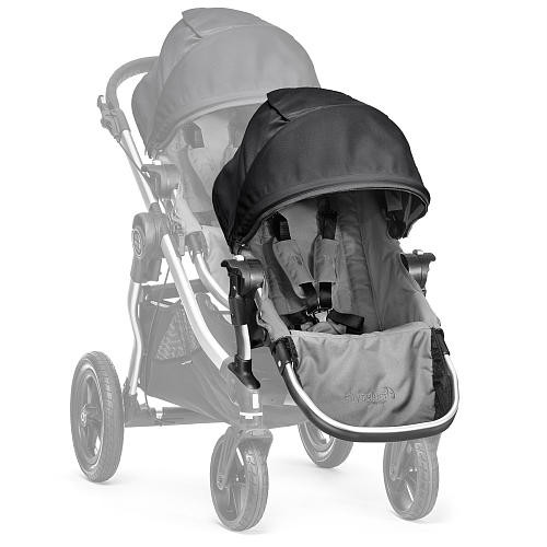 Baby Jogger City Select Second Seat Kit - Gray/Black