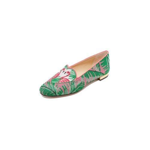 CHARLOTTE OLYMPIA Flamingo Slippers