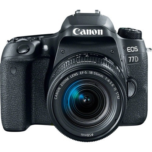 Canon EOS Rebel 77D DSLR Camera with 18-55mm STM Lens Kit