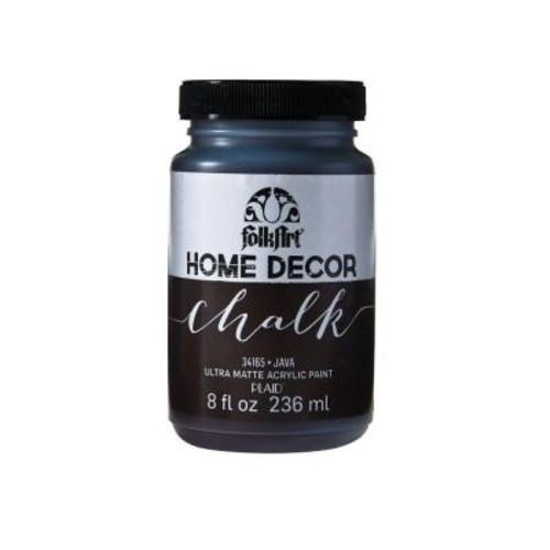 FolkArt Home Decor 8 oz. Java Ultra-Matte Chalk Finish Paint