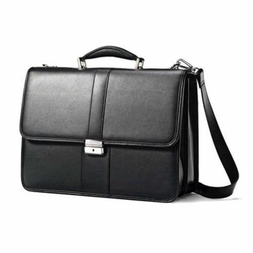 Samsonite Leather Flapover Business Case