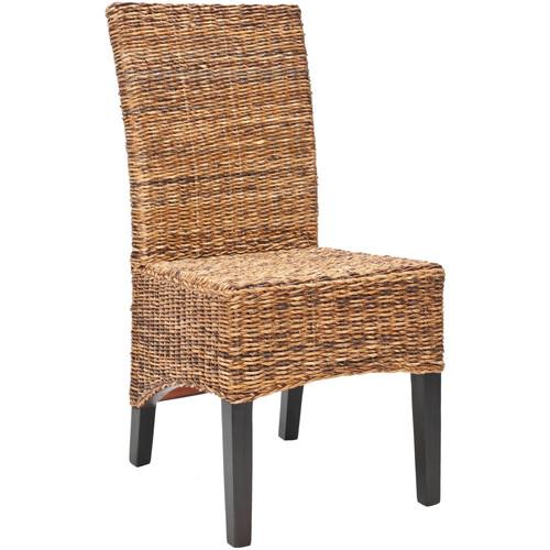 Safavieh Laguna Side Chair, Set of 2, Brown