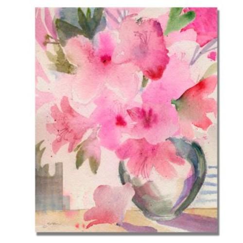Trademark Fine Art 'Pink Azaleas' 18