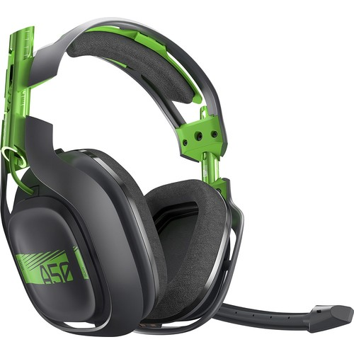 Astro - A50 Wireless Dolby 7.1 Surround Sound Gaming Headset for Xbox One and Windows - Black and Green