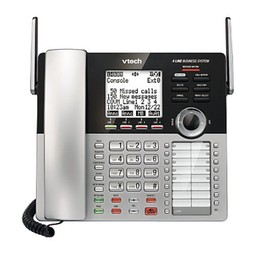 VTech DECT 6.0 Expandable Corded Small Business Phone System Main Console, CM18445