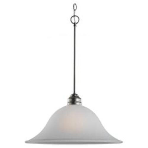 Sea Gull Lighting Gladstone 1-Light Antique Brushed Nickel Pendant