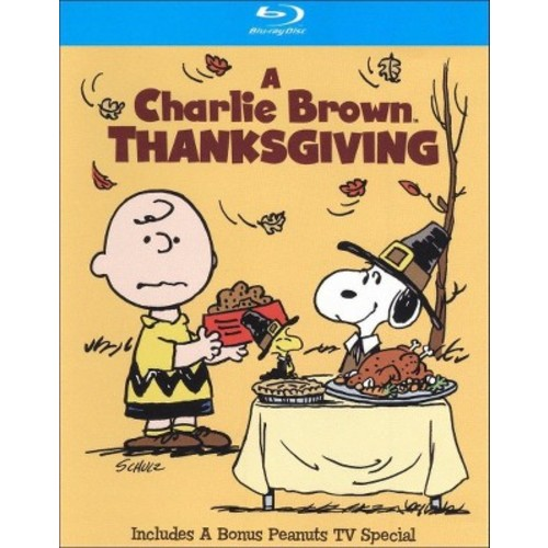 A Charlie Brown Thanksgiving/The Mayflower Voyagers (Blu-ray)