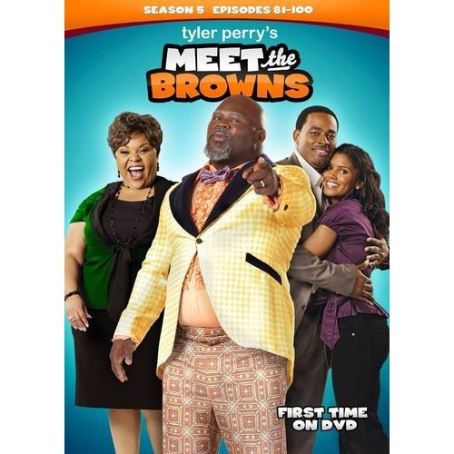 Tyler Perry's Meet the Browns: Season 5 [3 Discs] [DVD]