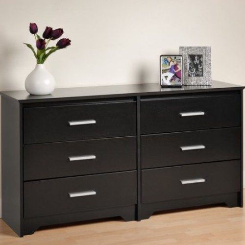 Prepac Coal Harbor 6 Drawer Dresser [Espresso]