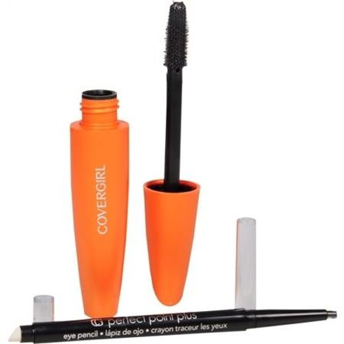 CoverGirl LashBlast Volume Mascara & Perfect Point Pencil Very Black