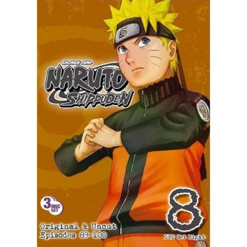 Naruto: Shippuden - Box Set 8 (3 Discs) (dvd_video)