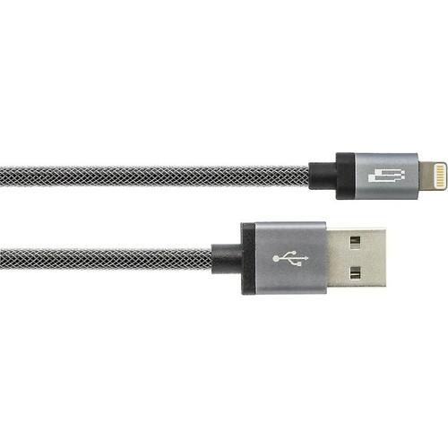 Bracketron PwrRev 1-meter Lightning-to-USB cable