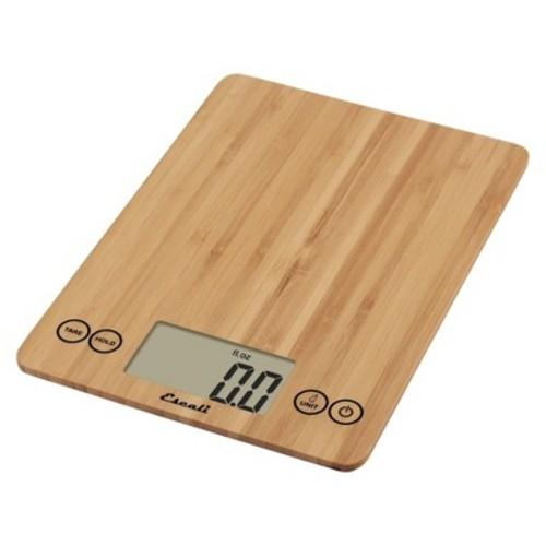 Escali Arti Digital Food Scale - 15 lb capacity - Bamboo