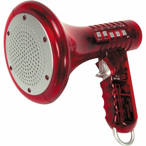 Red Multi Voice Changer by Toysmith: Change your voice with 10 different voice modifiers - Kids Toy (Color is Red)