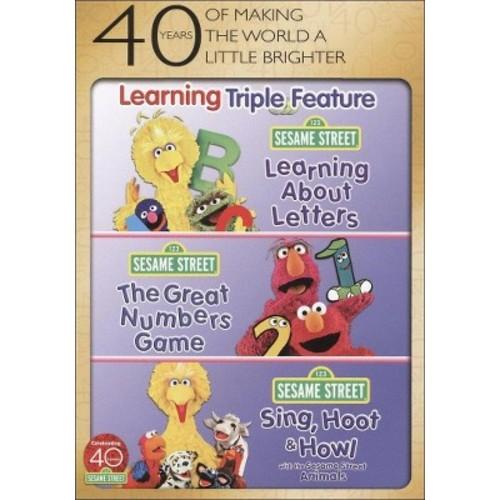 Sesame Street: Learning Triple Feature (3 Discs) (dvd_video)