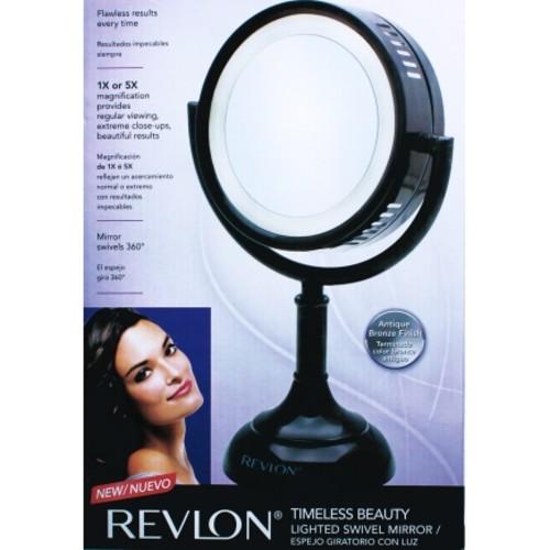 Revlon Lighted Swivel Bathroom Mirror (RVMR9019)