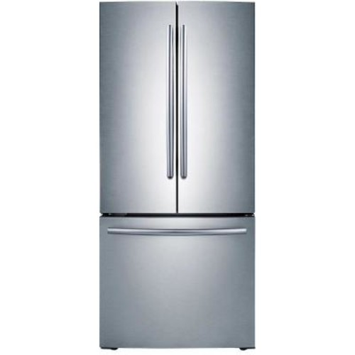 Samsung 33 in. W 19.4 cu. ft. French Door Refrigerator in Stainless Steel