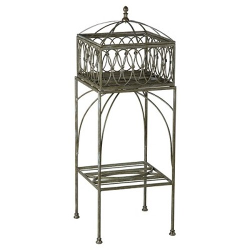 Bombay Outdoors Lyon Filigree Planter Stand - Indoor / Outdoor