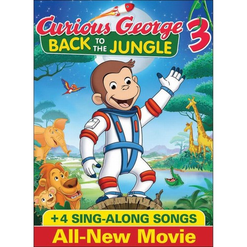 Curious George 3: Back to the Jungle [DVD] [Eng/Fre/Spa] [2015]