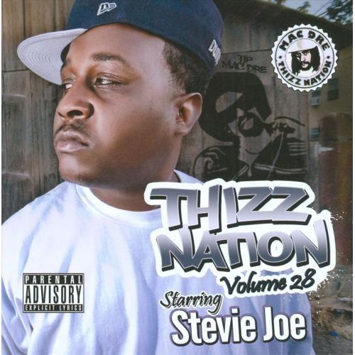 Thizz Nation, Vol. 28: Starring Stevie Joe [CD] [PA]
