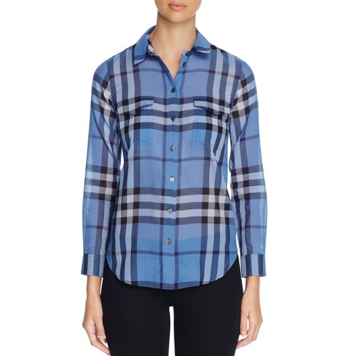 BURBERRY Tal Check Button-Down Shirt