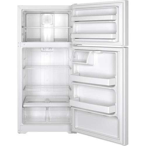 GTE15CTHRWW 14.6 cu. ft. Top-freezer Refrigerator - White